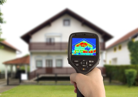 infrared imaging by sonoma county building inspector Julian Benton