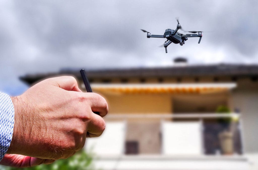 Sonoma County home inspector uses drones for roof inspections